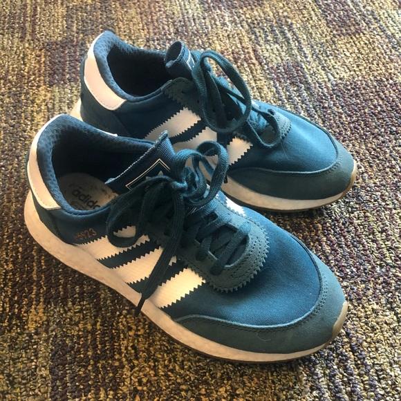 adidas Shoes | Teal Iniki Mens 5 Womens